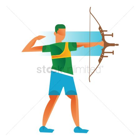 Archeries : Archer with a bow