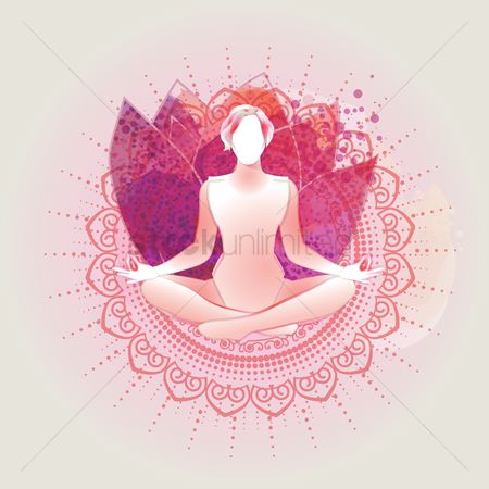 Health cares : Artistic yoga pose design