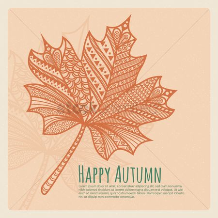 Free Maple Leaf Sketch Stock Vectors | StockUnlimited