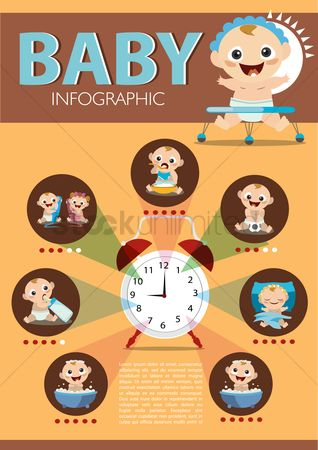 Timepiece : Baby infographic