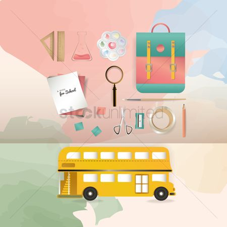 Palette : Back to school design