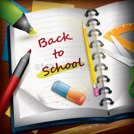 Notebooks : Back to school wallpaper