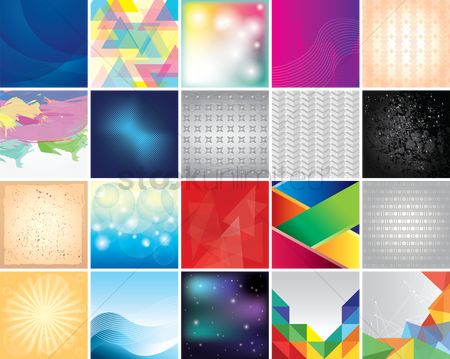 Geometrics : Background collection