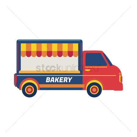 Businesspeople : Bakery truck