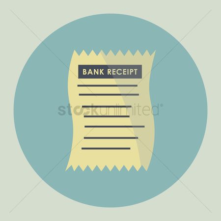 Billing : Bank receipt