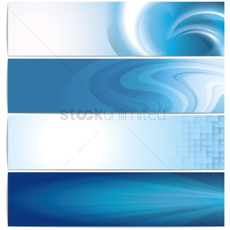 Copy space : Banner design set