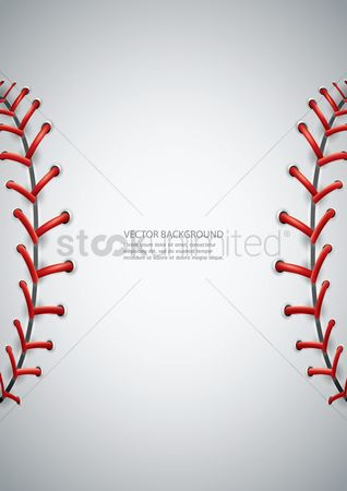 Recreation : Baseball background design