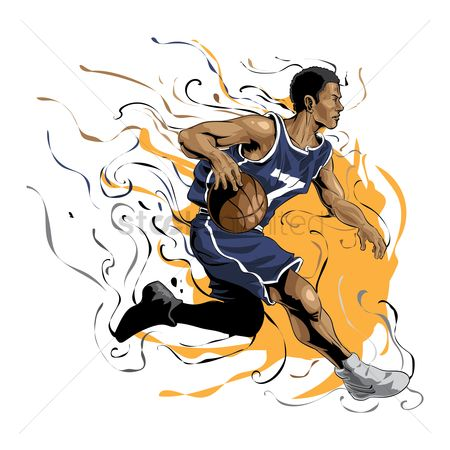 Athletes : Basketball player