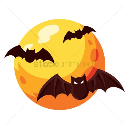 Oct : Bats flying