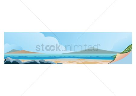 Lighthouses : Beach banner