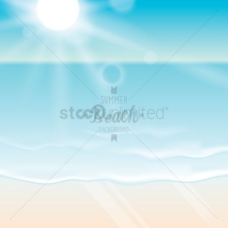 Sunray : Beach wallpaper
