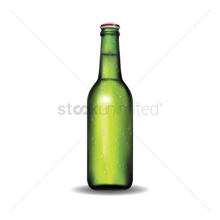 Liquor : Beer bottle