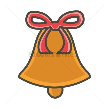 Notification : Bell with ribbon
