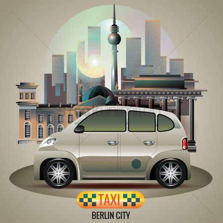 Taxis : Berlin city taxi