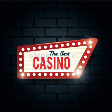 Brick : Best casino sign