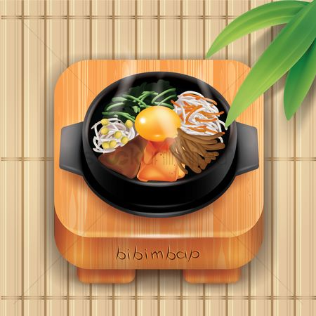 Dishes : Bibimbap