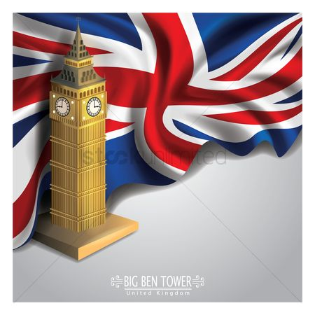 England : Big ben tower wallpaper