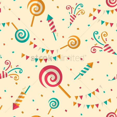 Confectionery : Birthday background
