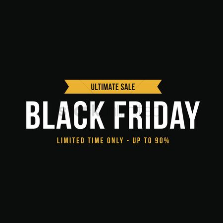 Commercials : Black friday sale