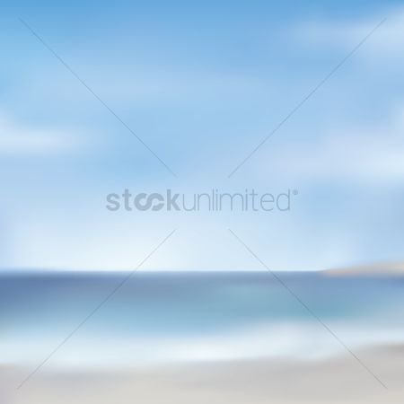 Seashore : Blurred background design