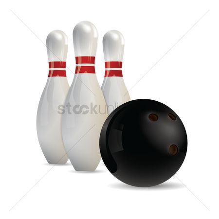 Indoor : Bowling pins