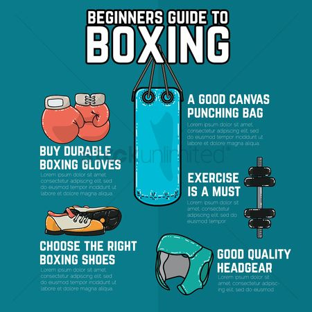 Infographic : Boxing guide infographic