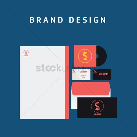 Stationary : Brand design