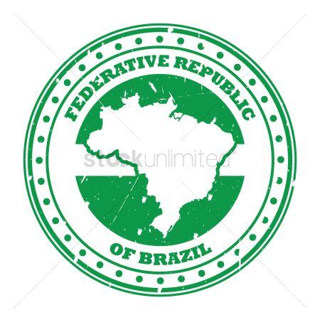 Free Federative Republic Stock Vectors StockUnlimited - Federative republic of brazil map