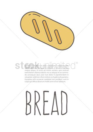 Baguettes : Bread poster