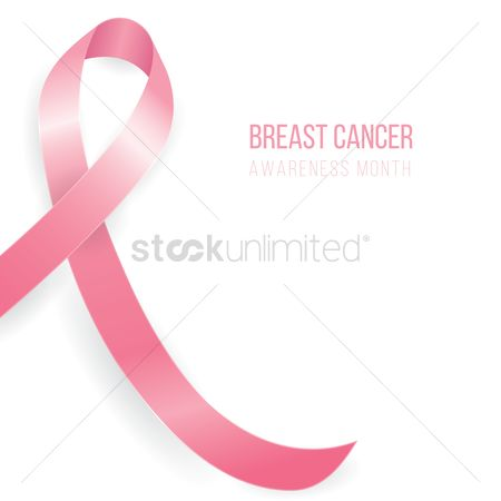 Month : Breast cancer awareness month design