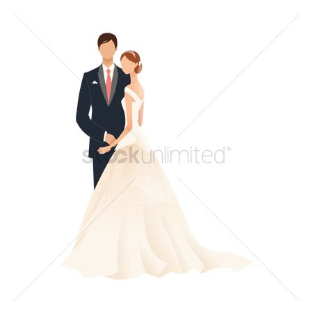 Weddings : Bride and bridegroom