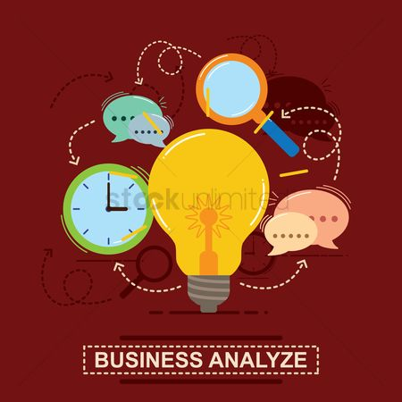 Minute : Business analyze concept