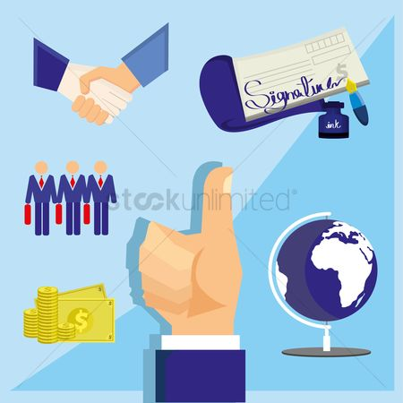 Signatures : Business concept