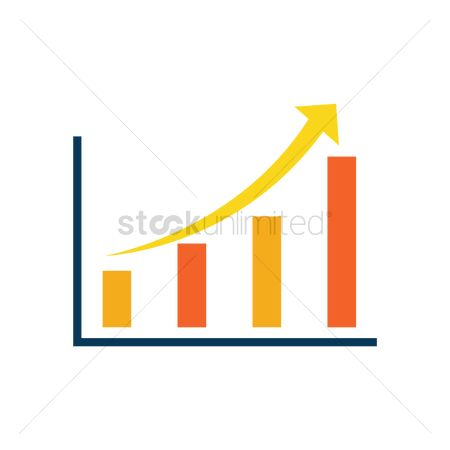 Profits : Business growth chart