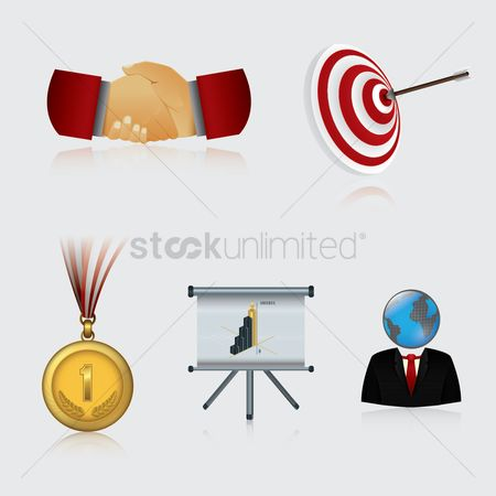 Medal : Business icons