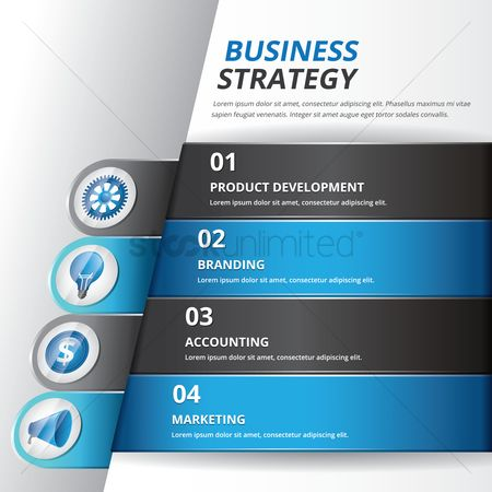 Cogwheels : Business strategy concept