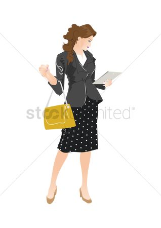 Skirt : Business woman