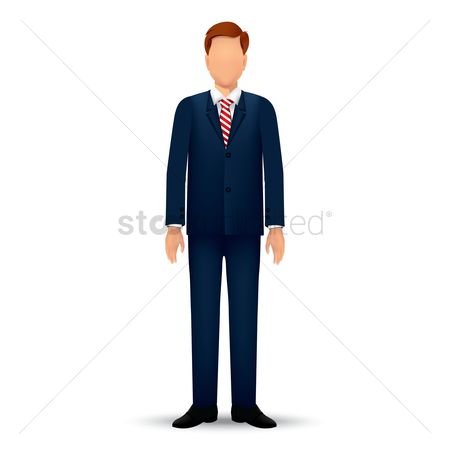 Businesspeople : Businessman standing