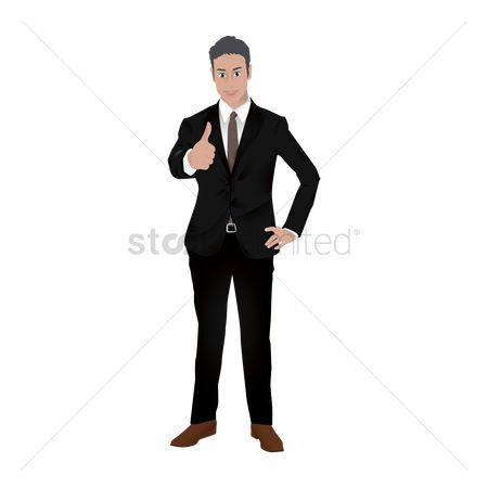 Posing : Businessman