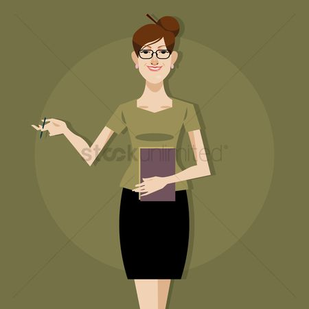 Skirt : Businesswoman