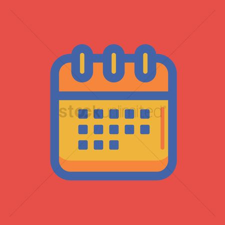 Weeks : Calendar icon