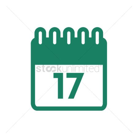 17 : Calendar on the 17th