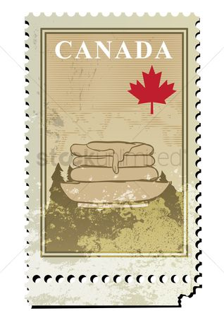 Drips : Canada postage stamp design