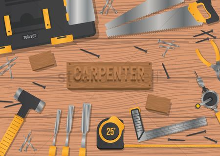 Screwdrivers : Carpenter workspace design