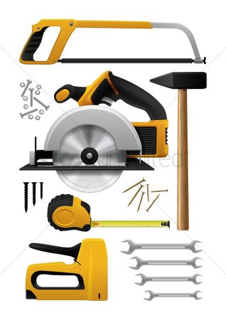 Machineries : Carpentry tools