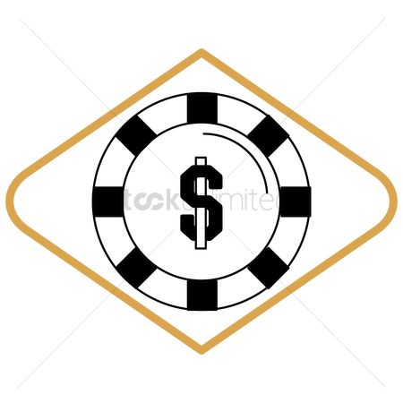 Poker chips : Casino chip