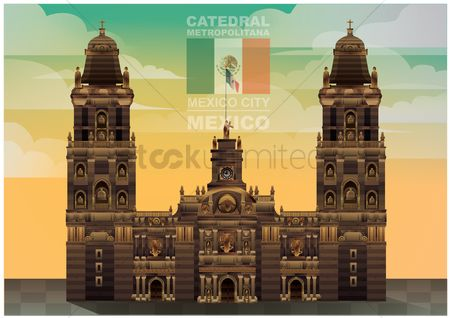 Patriotic : Catedral metropolitana wallpaper