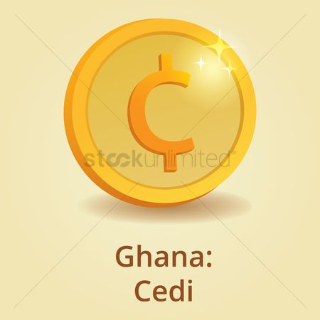 Free Ghana Currency Symbol Stock Vectors Stockunlimited