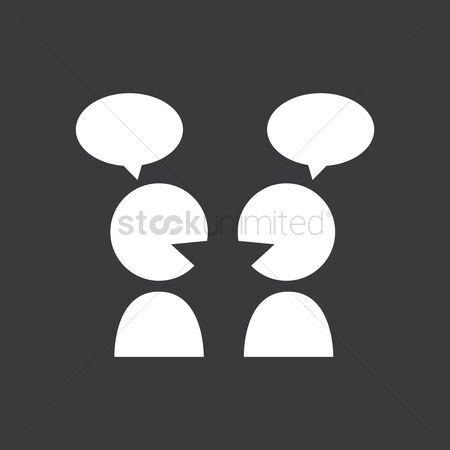 Interact : Chatting icon