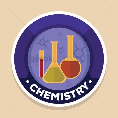 Chemicals : Chemistry label